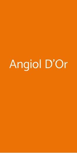 Menu Angiol D'Or