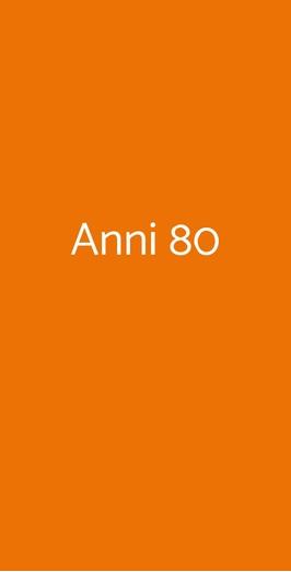 Anni 80, Pisa