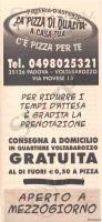 Ce' Pizza Per Te, Padova
