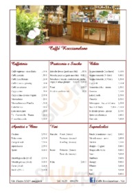 Caffe Rocciamelone, Viù