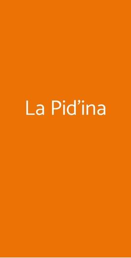 La Pid'ina, Rimini