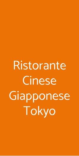 Ristorante Cinese Giapponese Tokyo, Fiumicino