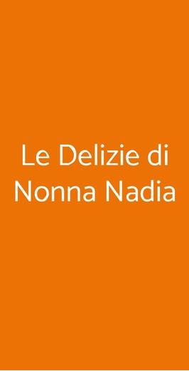 Le Delizie Di Nonna Nadia, Genova