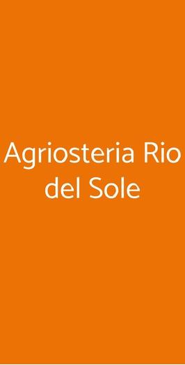 Agriosteria Rio Del Sole, Albairate