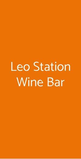 Leo Station Wine Bar, Montagnana
