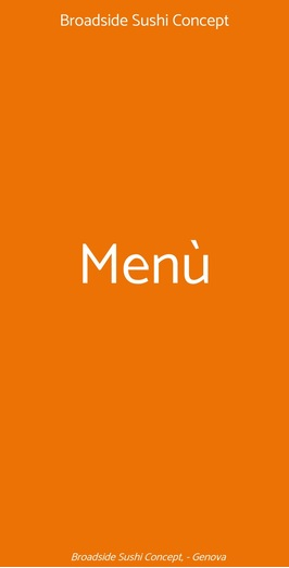 Broadside Sushi Concept, Genova