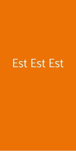 Est Est Est, Albignasego