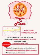 Voglia Di Pizza 2.0, Collegno