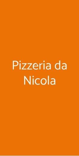 Pizzeria Da Nicola, Genova