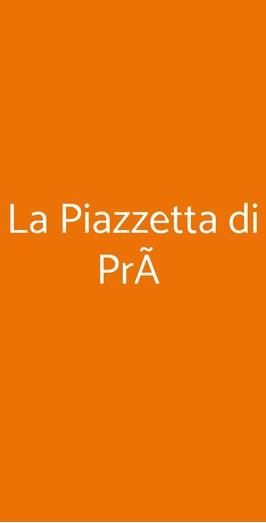 La Piazzetta Di Prà, Genova