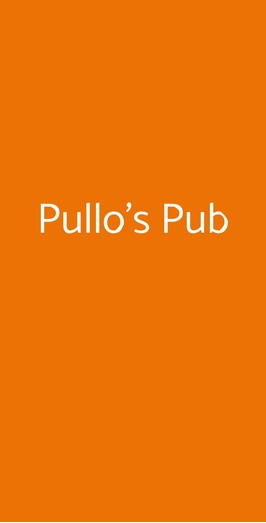 Pullo's Pub, Giugliano in Campania
