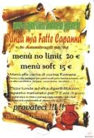 Panza Mia Fatte Capanna, Roma