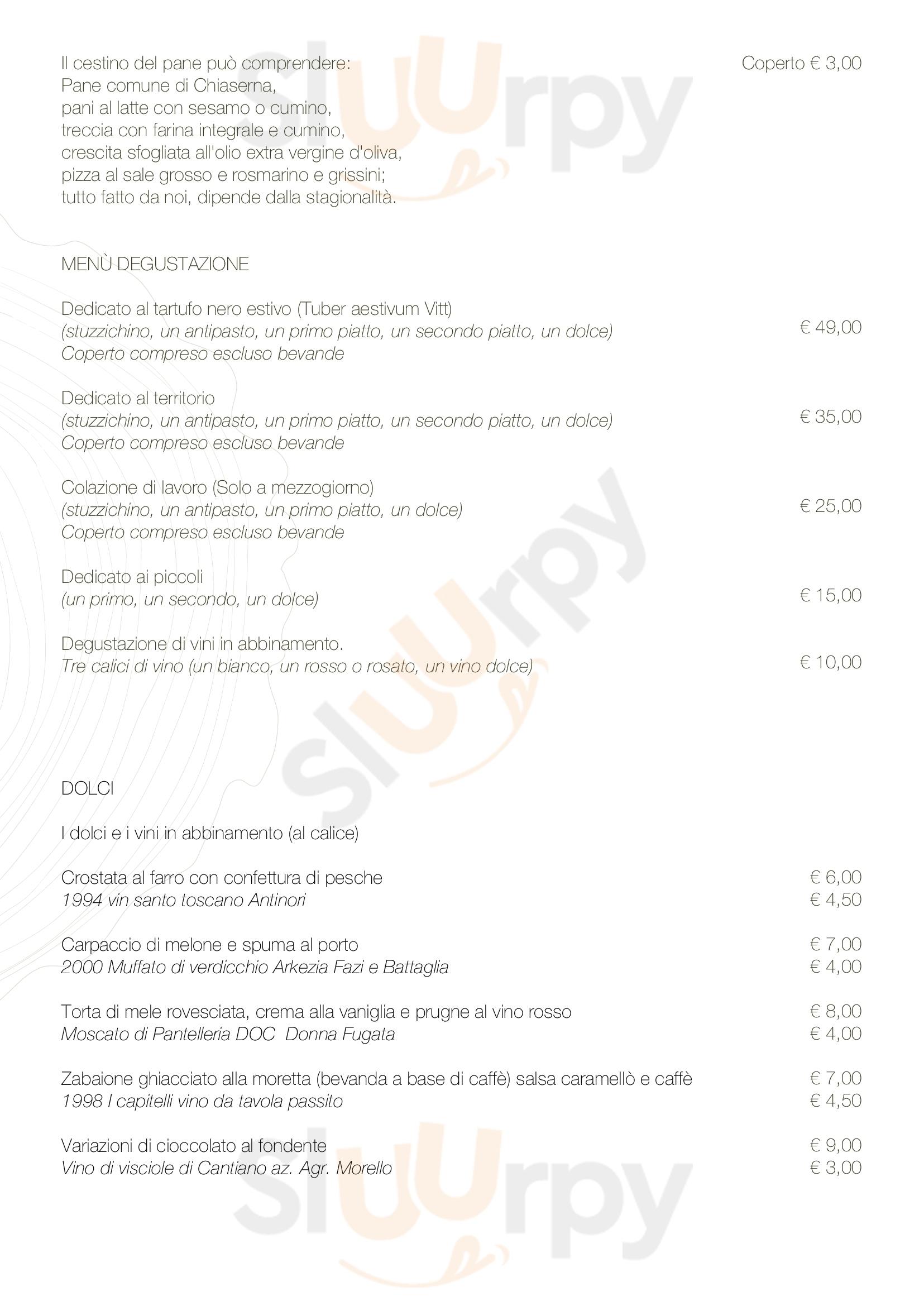 Anticofurlo Acqualagna menù 1 pagina
