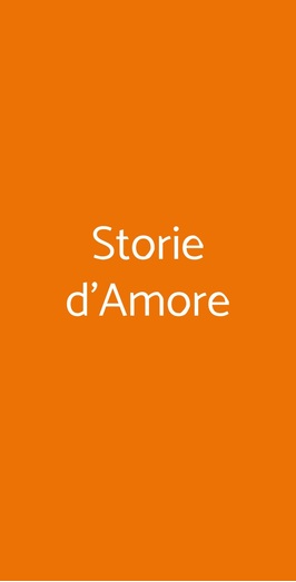 Storie D'amore, Padova