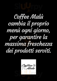 Menu Coffee Malù