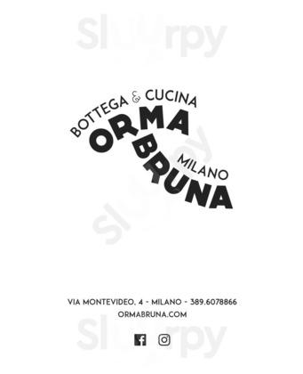Ristorante Orma Bruna, Milano