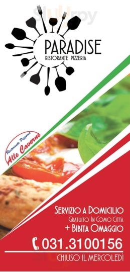 Ristorante Pizzeria Paradise, Como