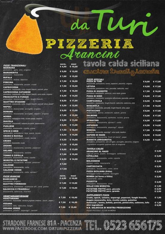 Da Turi Pizzeria, Piacenza