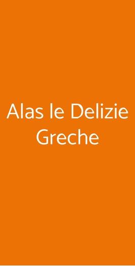 Alas Le Delizie Greche, Firenze