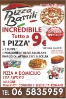 Pizza Barrili, Roma