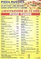 Pizza Rustica, Roma
