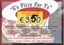 C'e' Pizza Per Te, Roma
