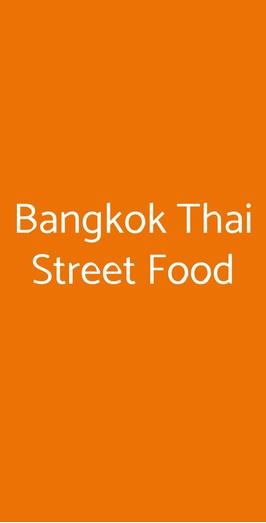 Bangkok Thai Street Food, Torino