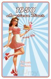 Menu 1950 American Diner - Centro