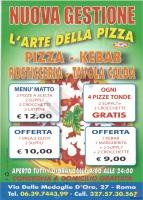 L'arte Della Pizza, Roma