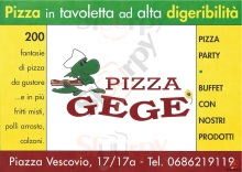 Pizza Gege, Roma