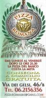 Pizza Romana, Roma