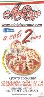Minipizza, Via Massaciuccoli, Roma