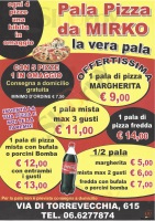 Pala Pizza Da Mirko, Roma