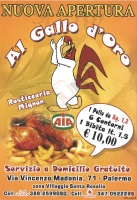 Al Gallo D'oro, Palermo