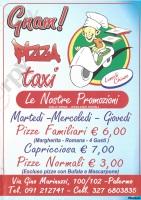 Gnam Pizza Taxi, Palermo