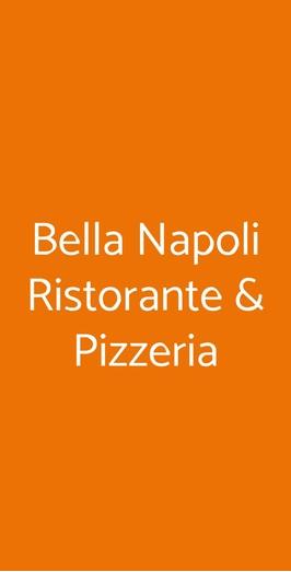 Bella Napoli Ristorante & Pizzeria, Vicenza