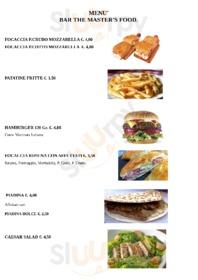 Menu Bar The Master's Food