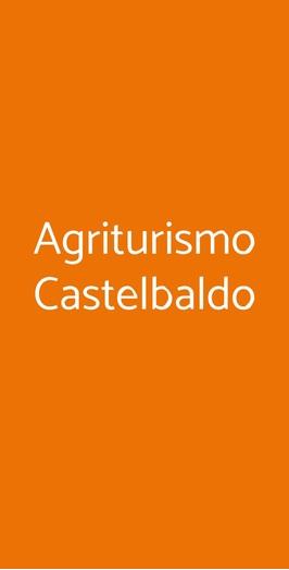 Agriturismo Castelbaldo, Castelbaldo