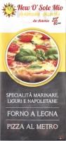 New O Sole Mio 4, Via Bobbio, Genova