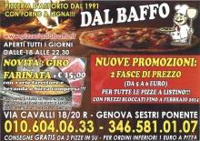 Dal Baffo, Genova