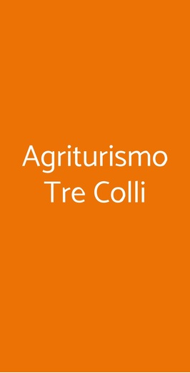 Agriturismo Tre Colli, Ariano Irpino