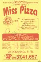 Miss Pizza, Genova