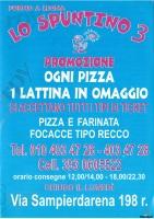 Lo Spuntino 3, Genova