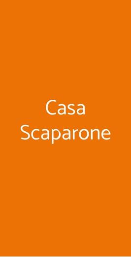 Casa Scaparone, Alba