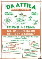 Da Attila, Genova