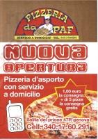 Da Paf, Genova