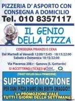 Il Genio Della Pizza, Genova