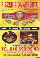 Pizza Time, Genova