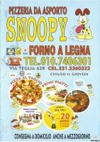 Snoopy, Genova