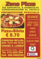 Zena Pizza, Genova